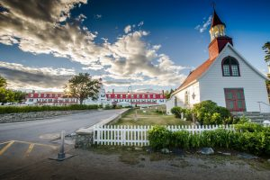 City of Tadoussac, Quebec - Church and hotel - Yvon Guignard, Pixabay