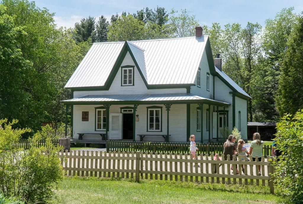 historical house in Centre-du-Québec's Village québécois d'Antan
