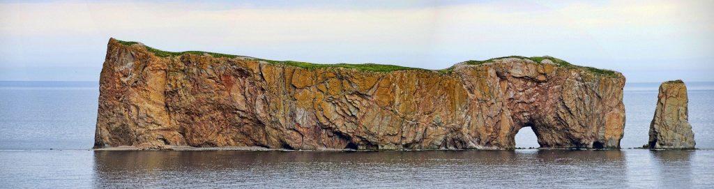 Rocher Percé or Percé Rock in Gaspésie - Graham H, Pixabay
