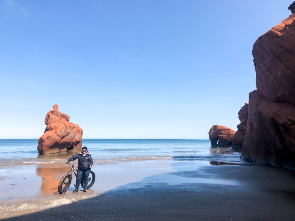 Fatbike riding with Le Pedalier in Dune du Sud