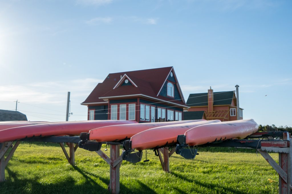 Kayaks at the beach - Parc de Gros-Cap cape