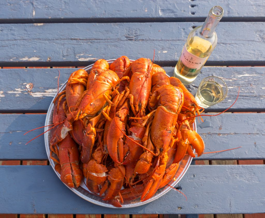 Lobster - What to eat in the îles de la Madeleine