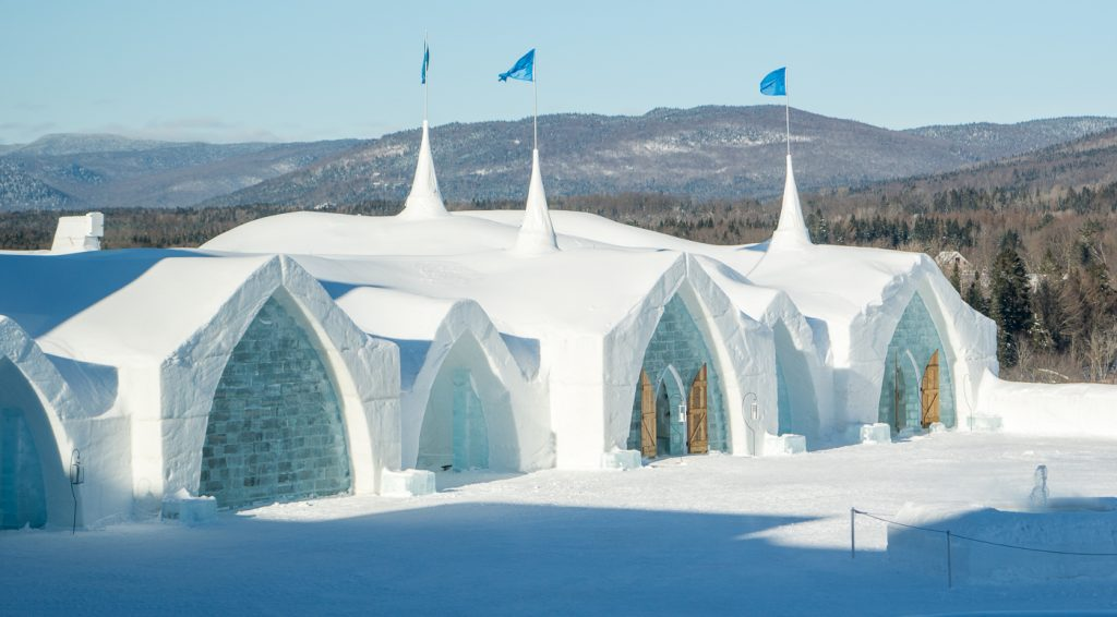 Overview of the Ice Hotel