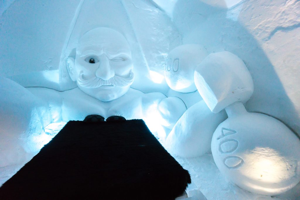Room into the Ice hotel