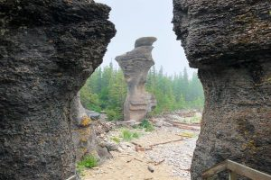 Stroll Between Monoliths in the Mingan Archipelago