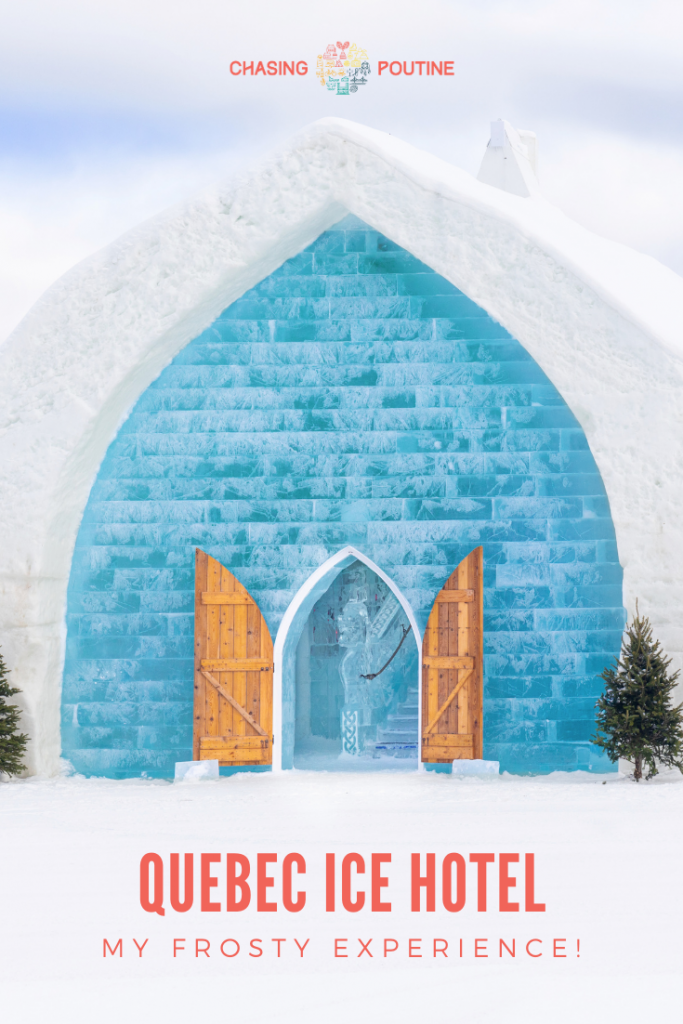 Quebec Ice Hotel Frosty Experience