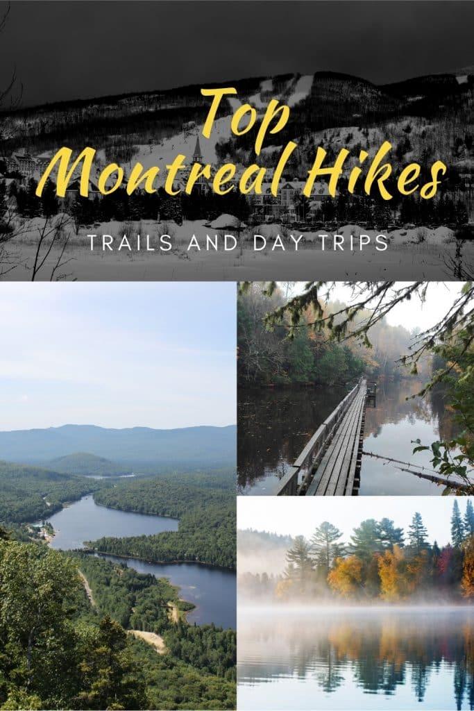 Where to hike around Montreal